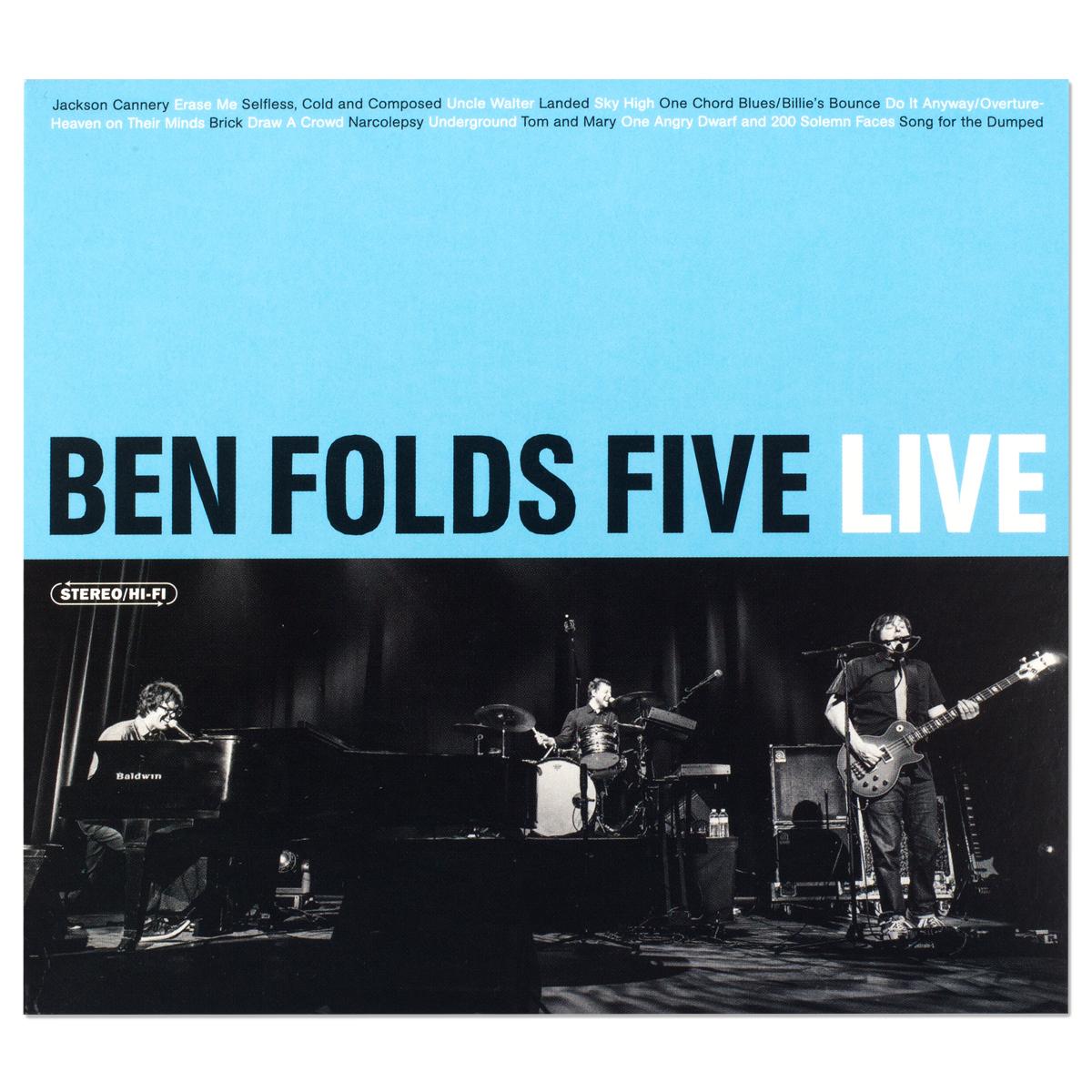 Ben Folds Five Live CD