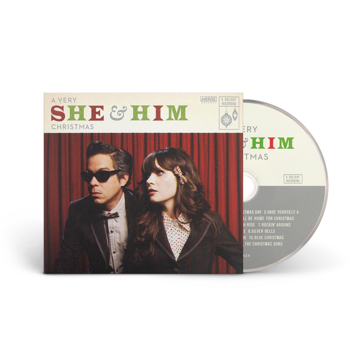 A Very She & Him Christmas CD