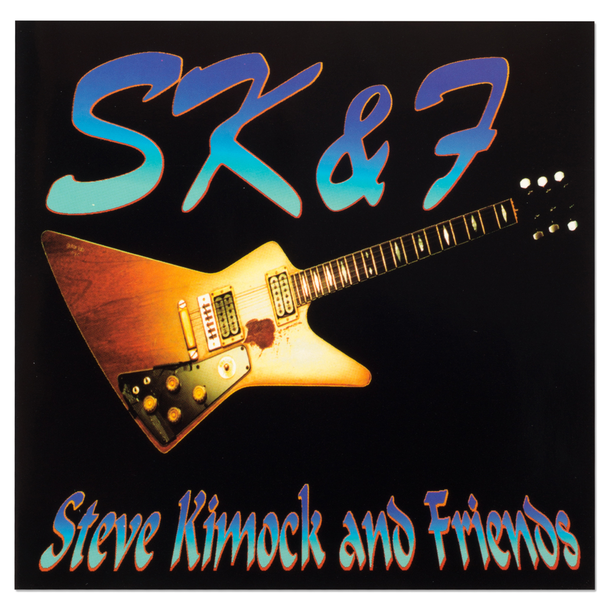 Steve Kimock & Friends Collectors CD (Signed & Numbered by Steve Kimock)