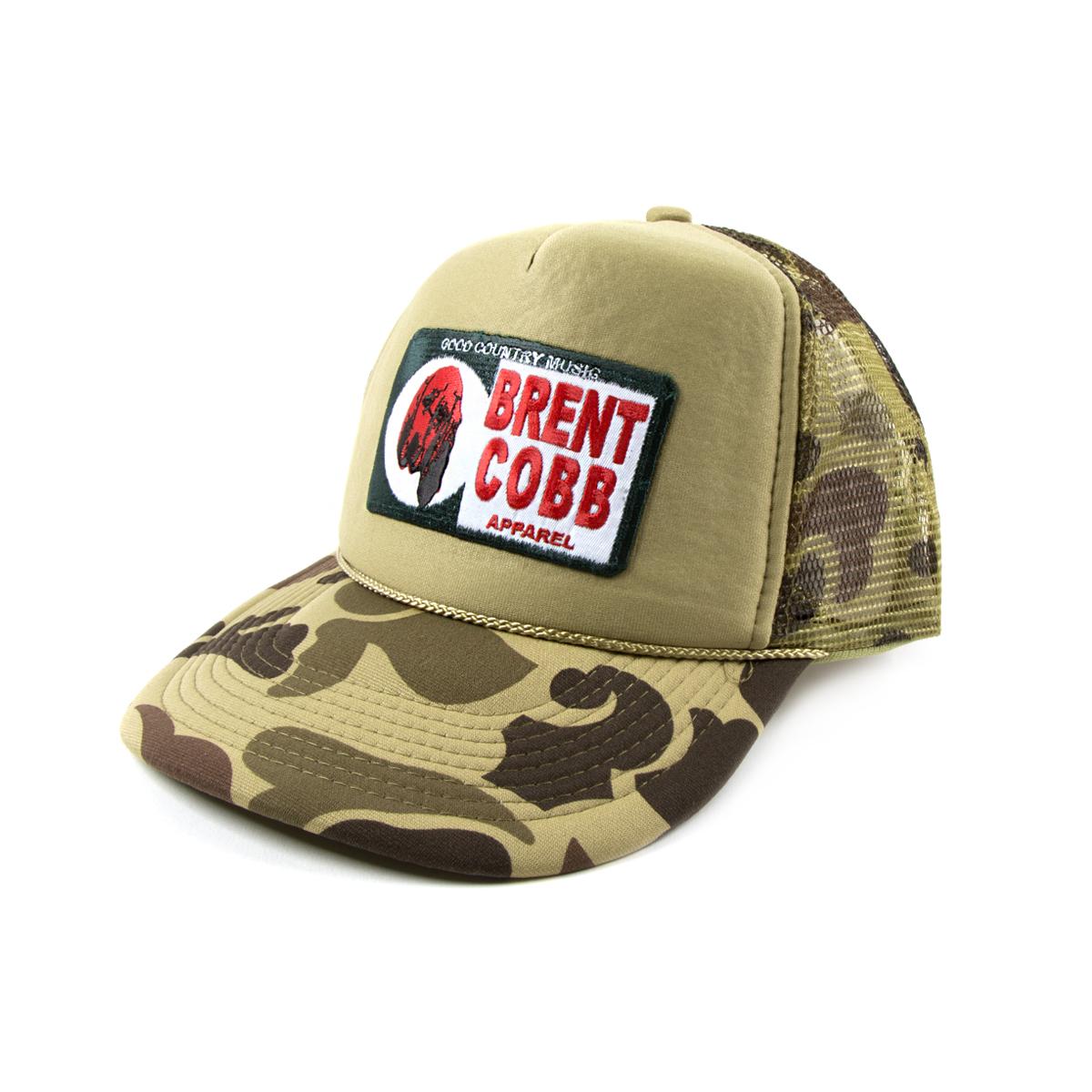 Bloodhound Camo Trucker Hat