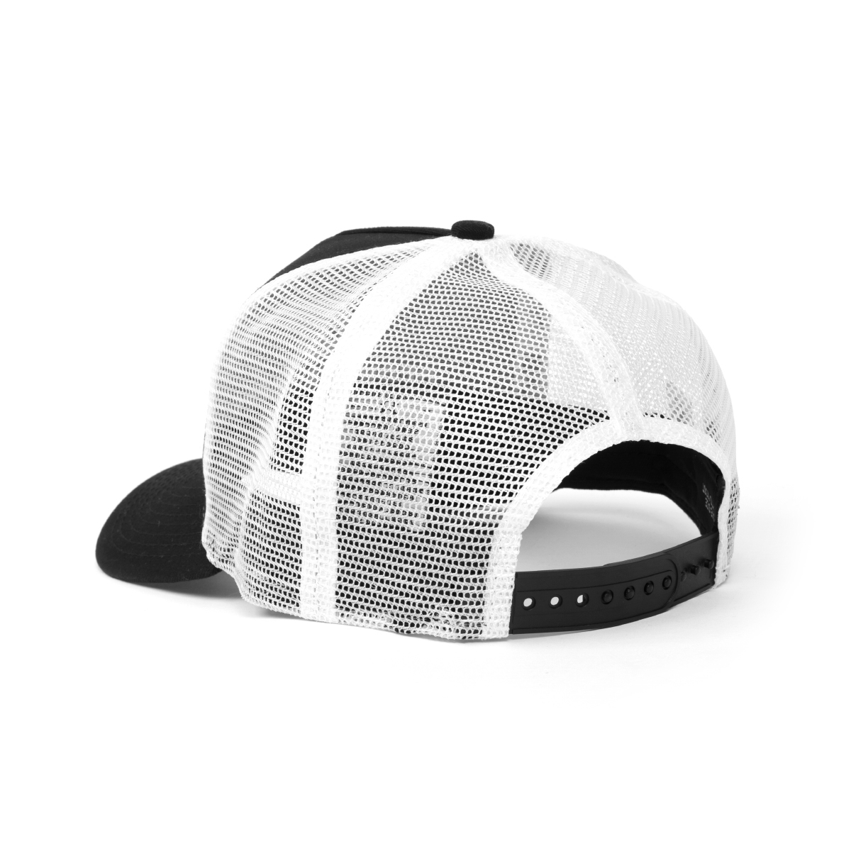 Black & White Logo Trucker