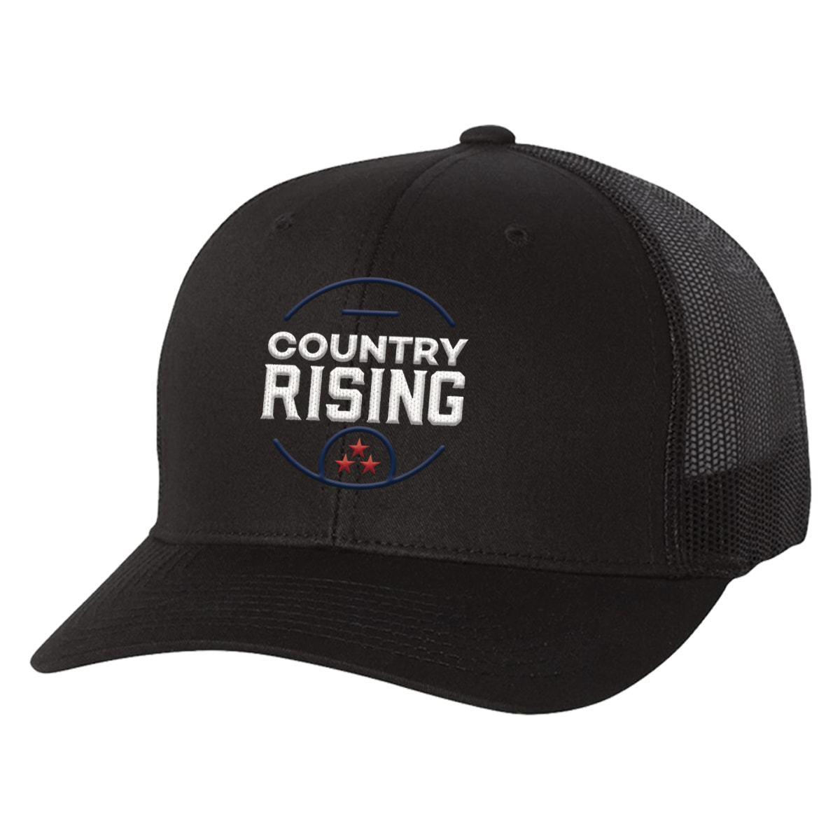 Unisex Black Trucker Cap
