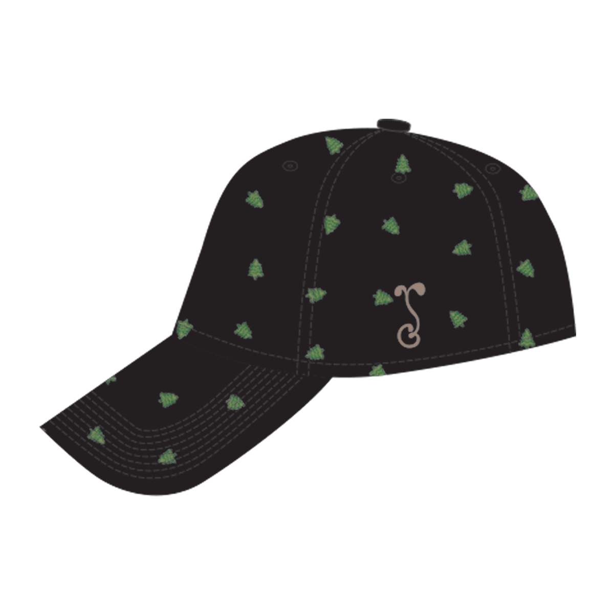 Grassroots CA Custom Black Dad Hat