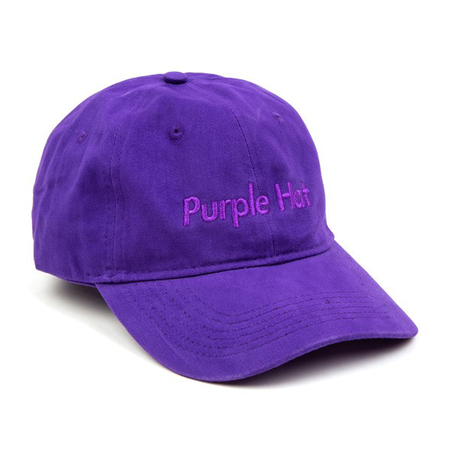 Purple Hat Dad Hat