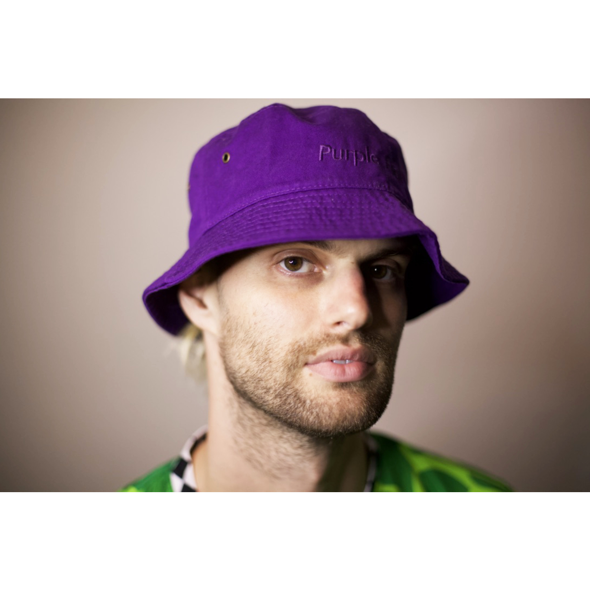 Purple Hat Bucket Hat