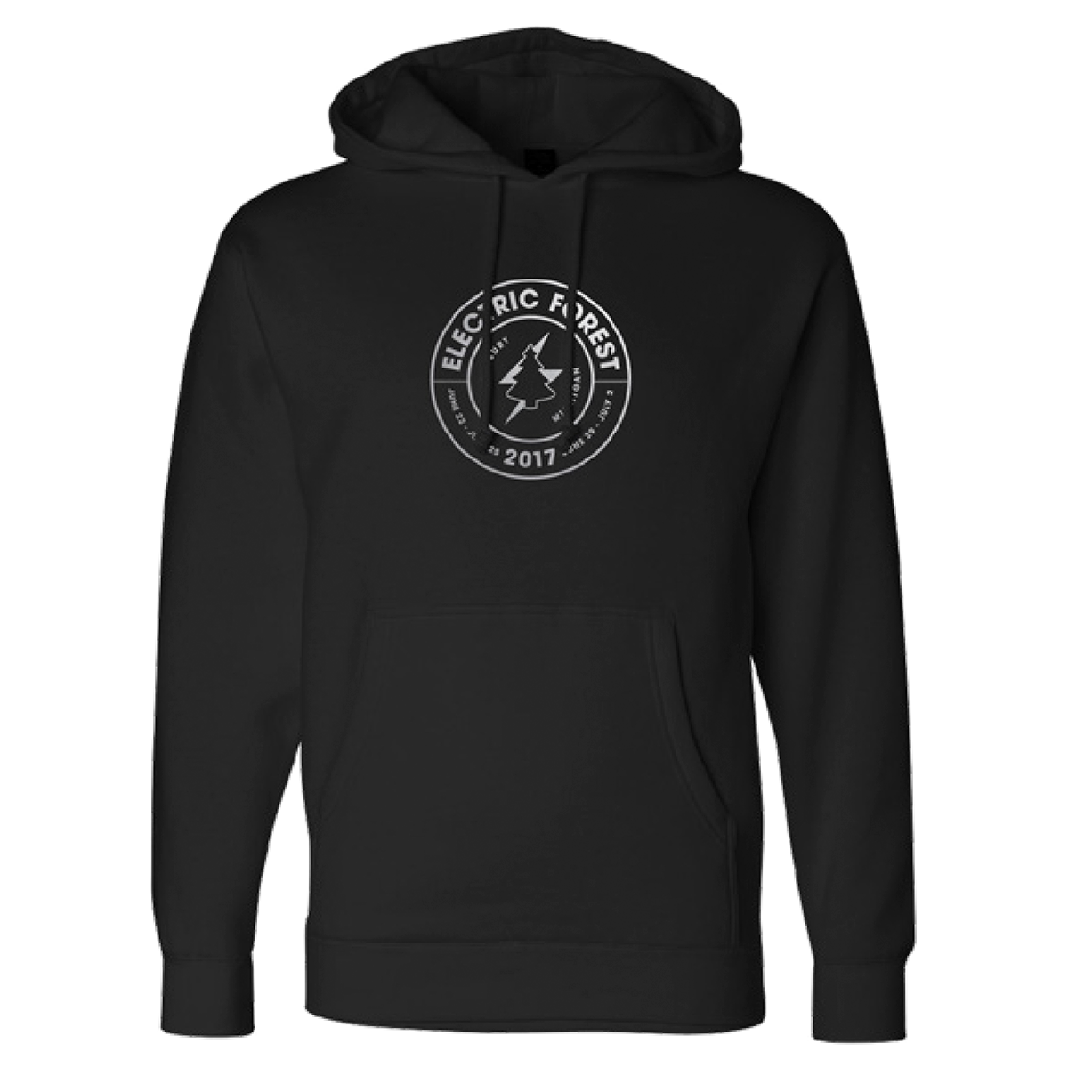 Electric Forest Seal 2017 Artist Lineup Hoodie