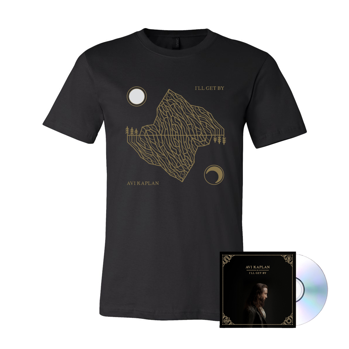 I'll Get By Shirt/CD Bundle