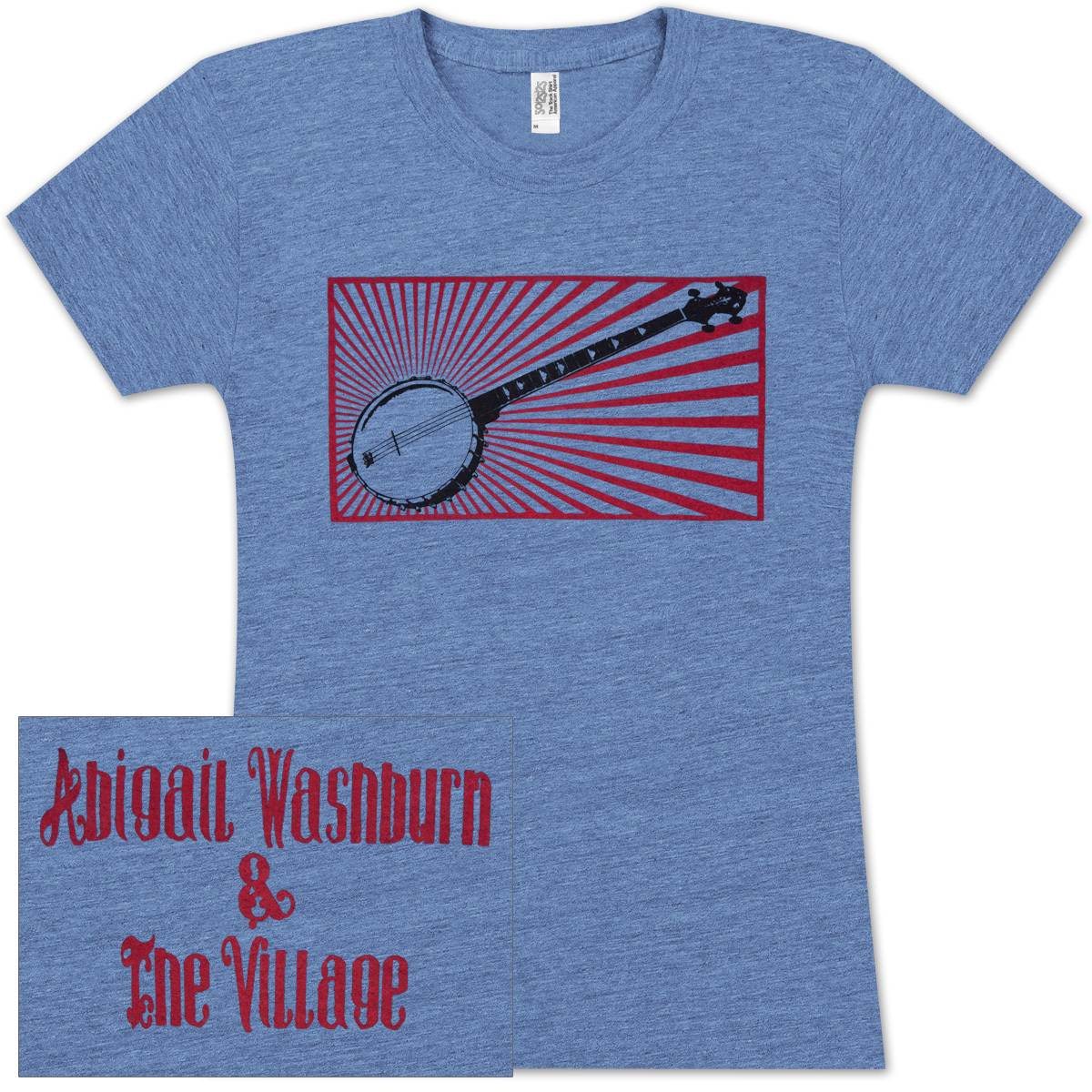 Abigail Washburn Banjo Ladies T-Shirt