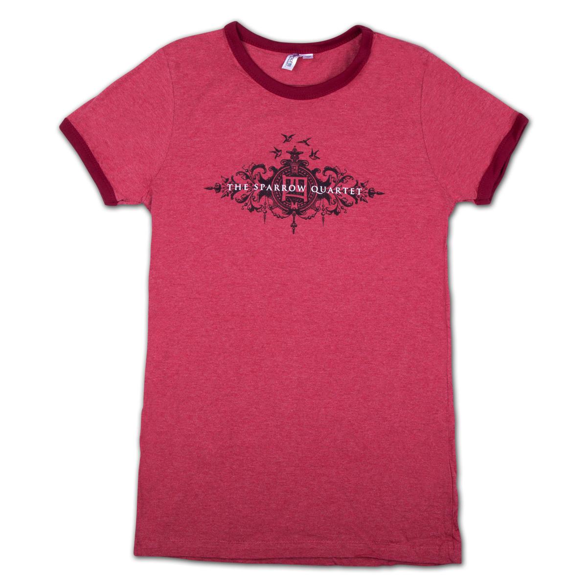 Abigail Washburn & The Sparrow Quartet Ringer T-Shirt - Ladies