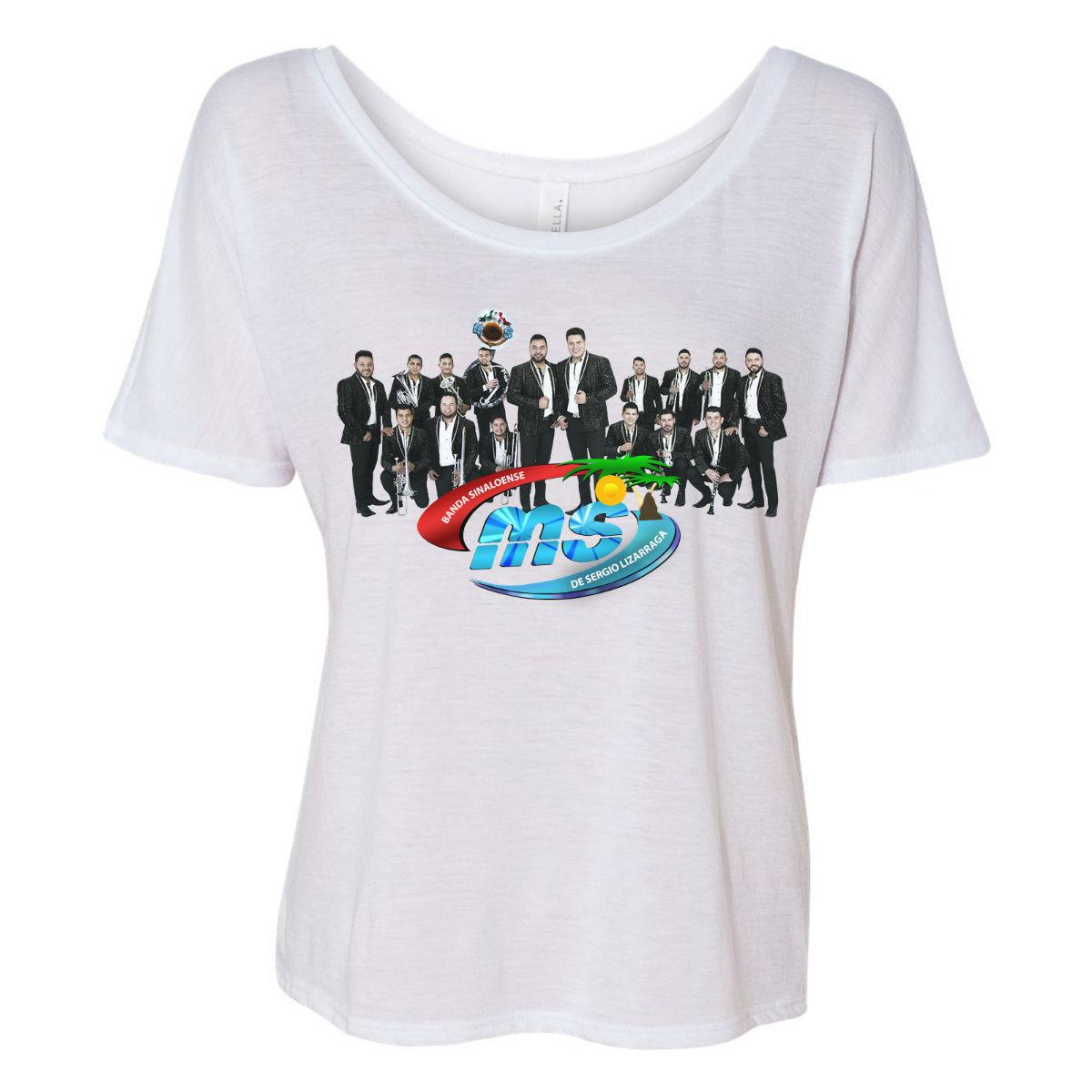 Women's Flowy Photo T-Shirt