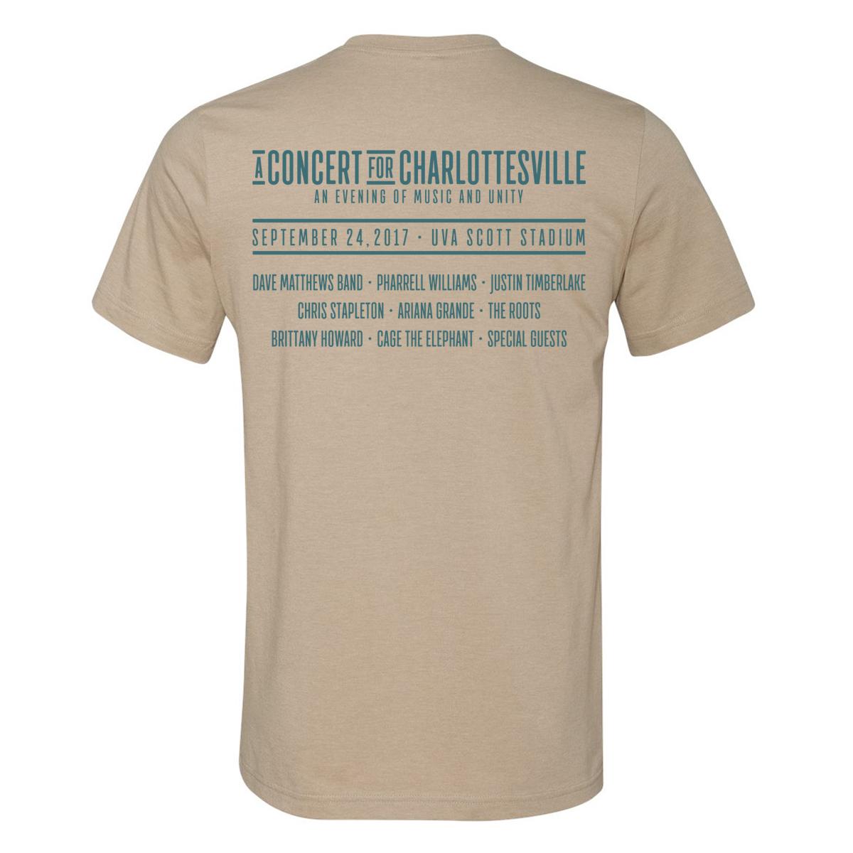 Concert for Charlottesville T - Circle Logo