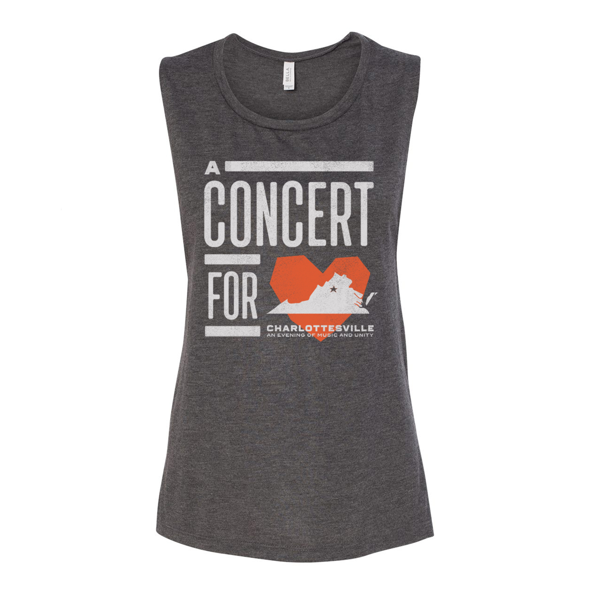 Women's Concert for Charlottesville Muscle Tank