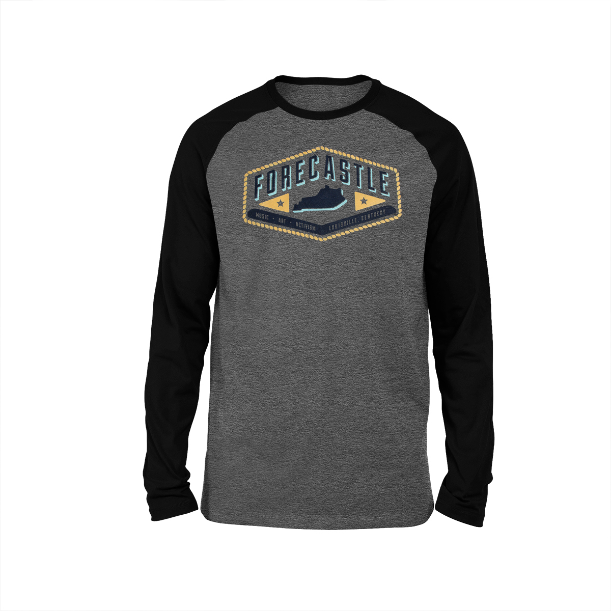 Forecastle 3/4 Sleeve Baseball Raglan Tee