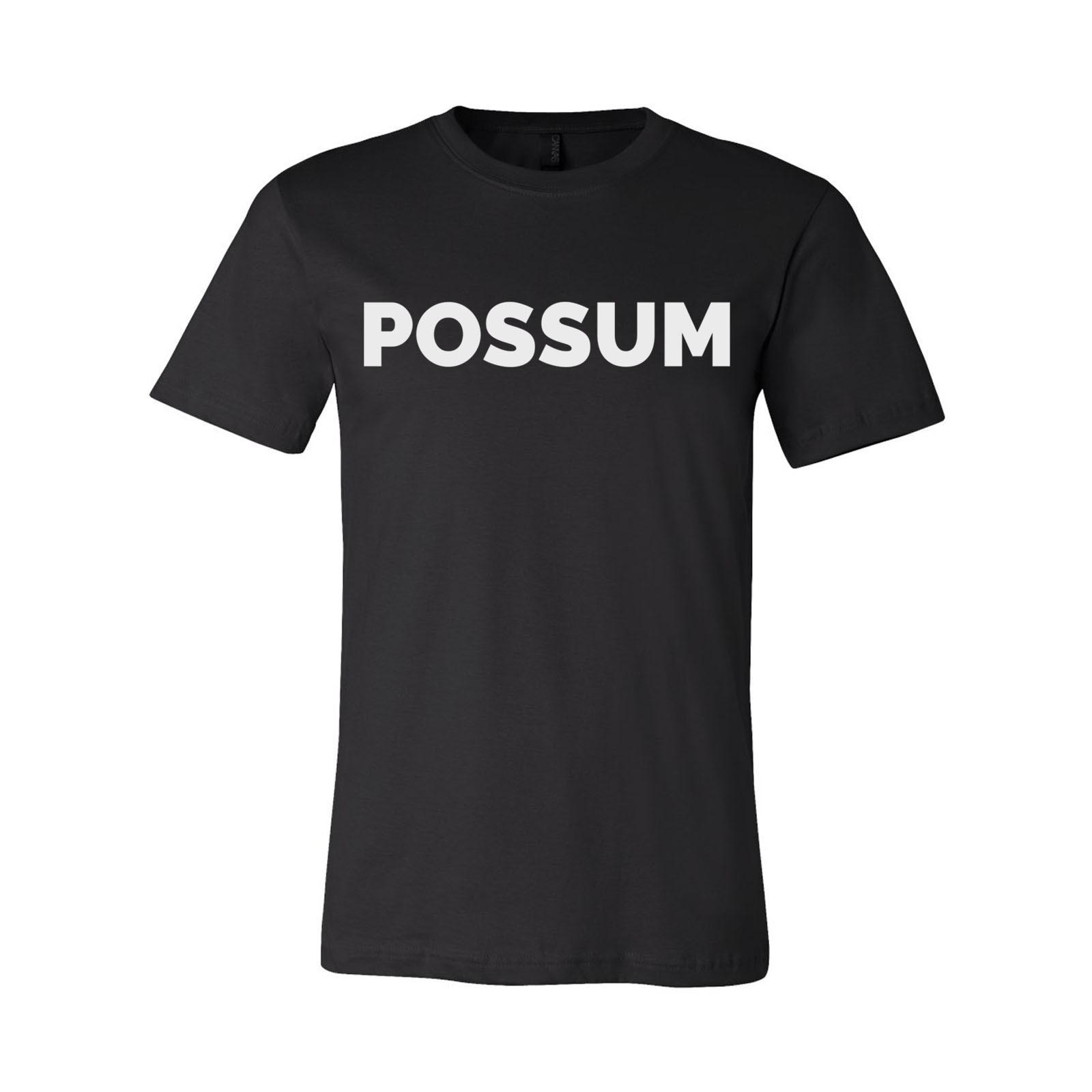 George Jones Possum T-Shirt - Black