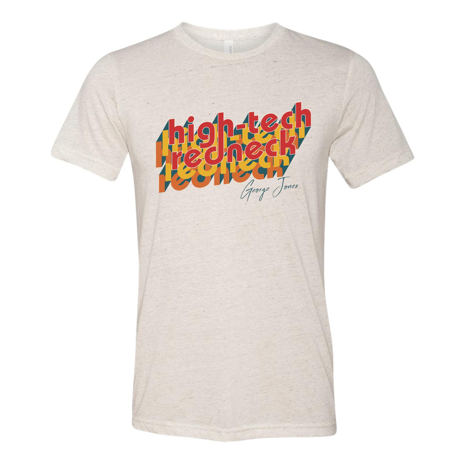 High Tech Redneck Retro T-Shirt