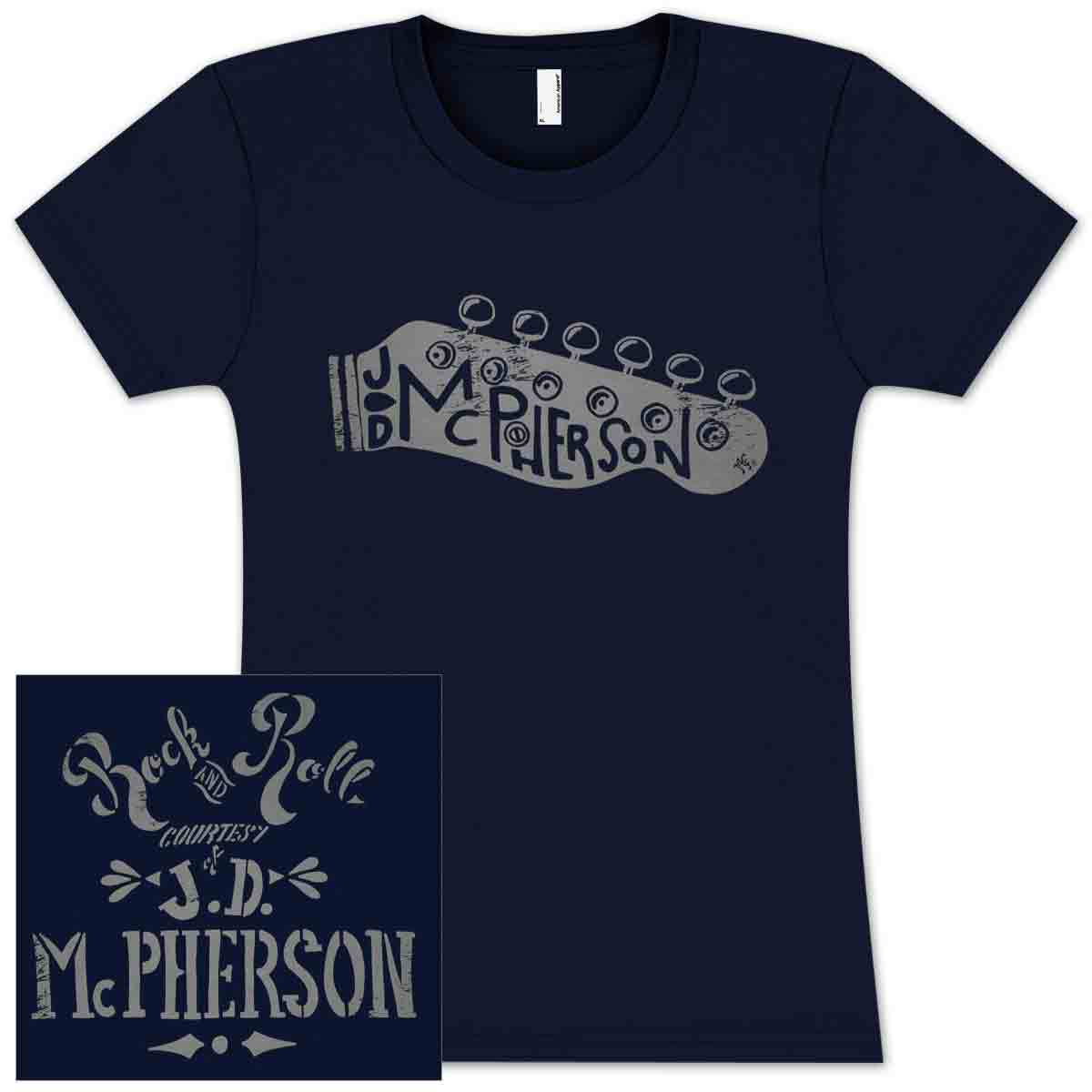 Jd Mcpherson Rock And Roll Ladies T Shirt Shop The