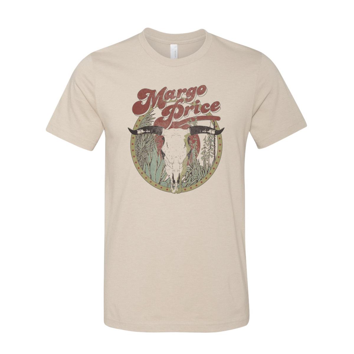 Desert Skull Cream T-Shirt