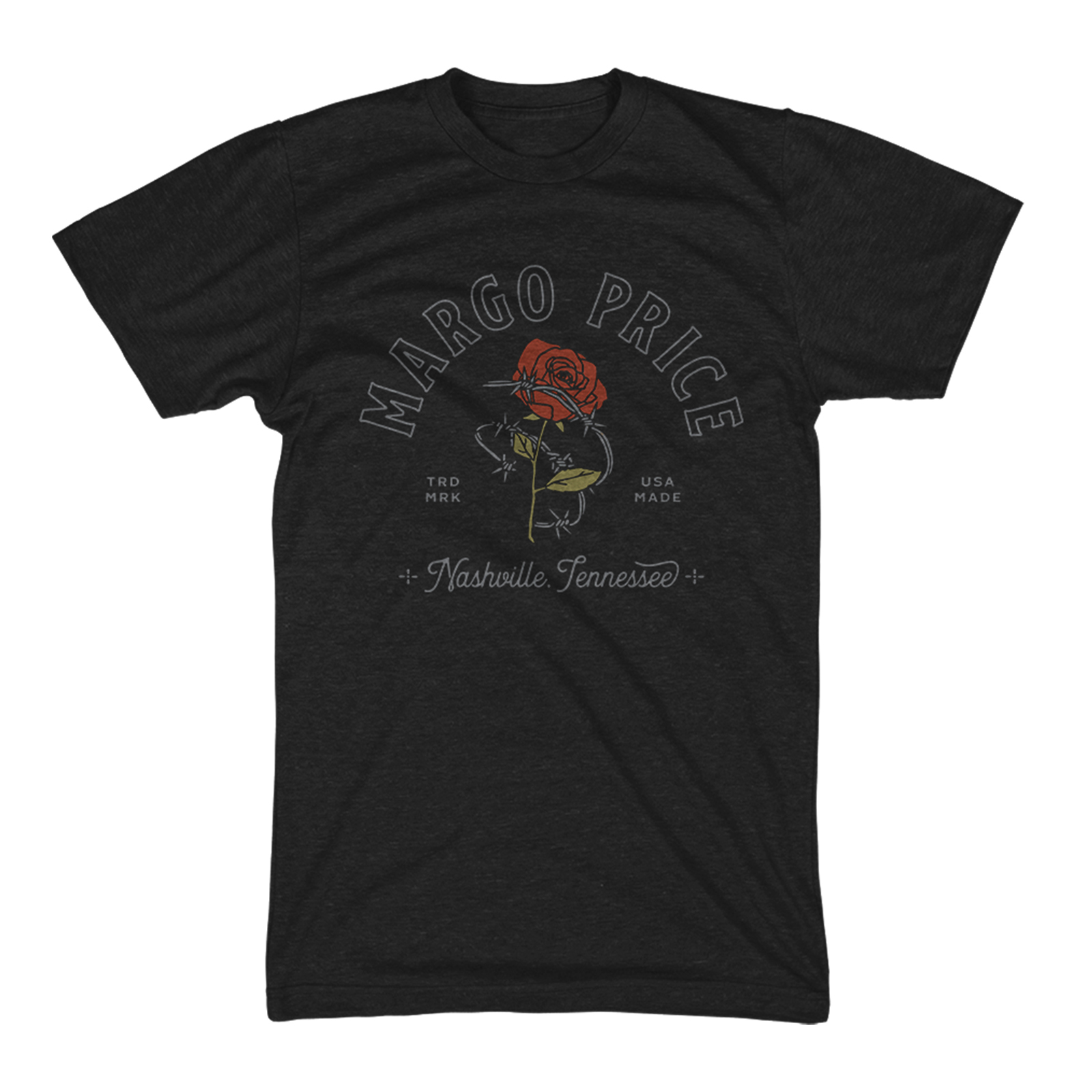 Barb Wire Rose T-Shirt
