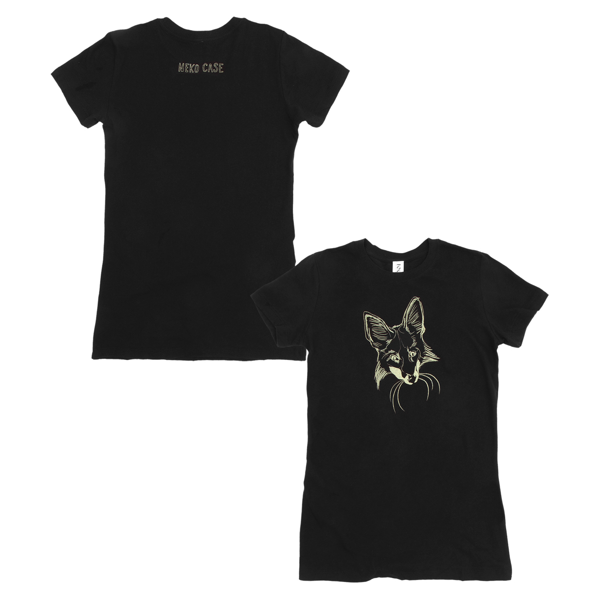 Fox Face Tee  - Womens