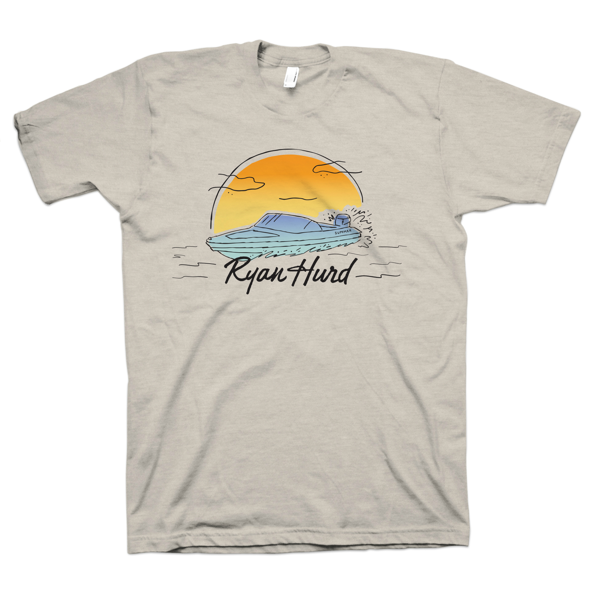 Ryan Hurd Speedboat T