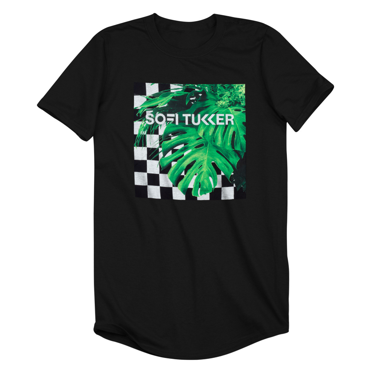 Checkered Jungle Tee