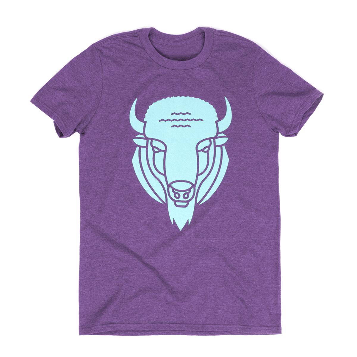 Buffalo Head Tee