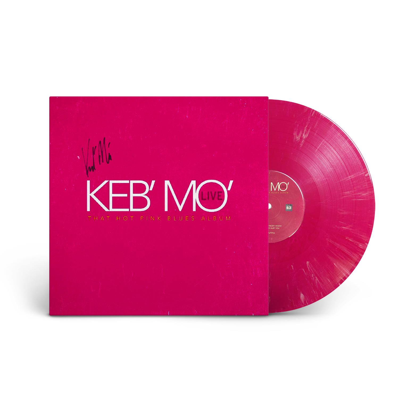 That Hot Pink Blues Signed 180 Gram Vinyl