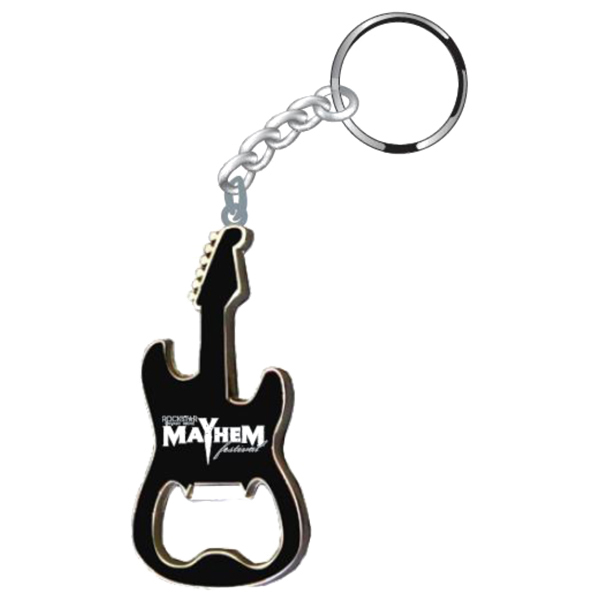 Mayhem Bottle Opener Keychain