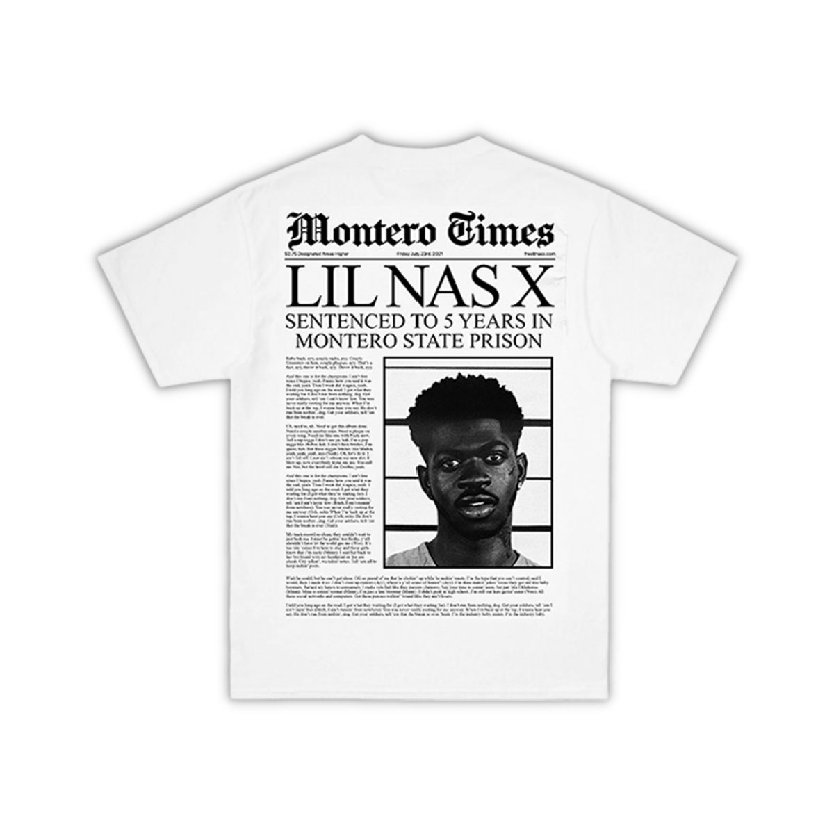 Industry Baby MONTERO Times White T-Shirt
