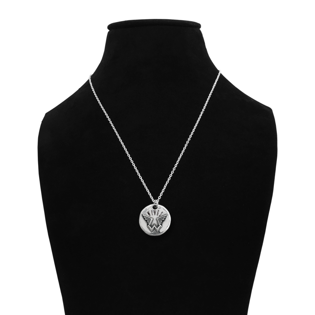 Pennyroyal Wings Pendant Silver Necklace