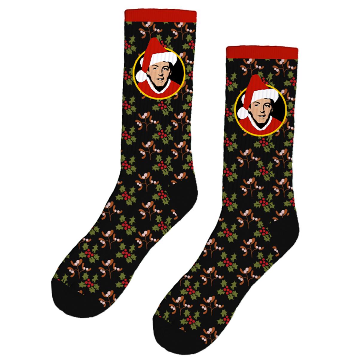 Black Christmas Socks