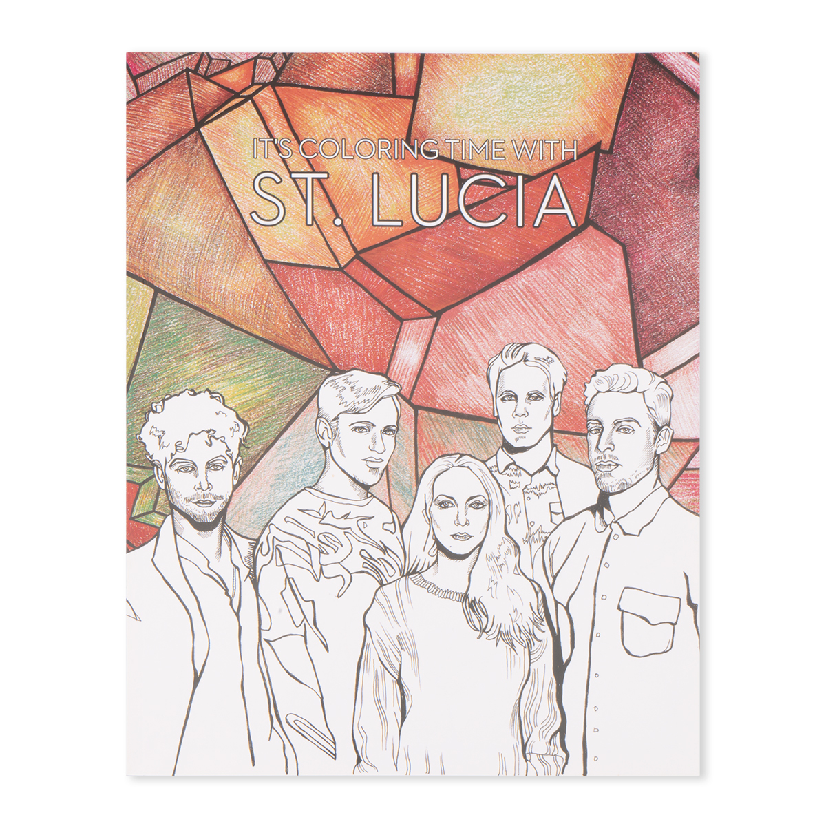 St. Lucia Coloring Book