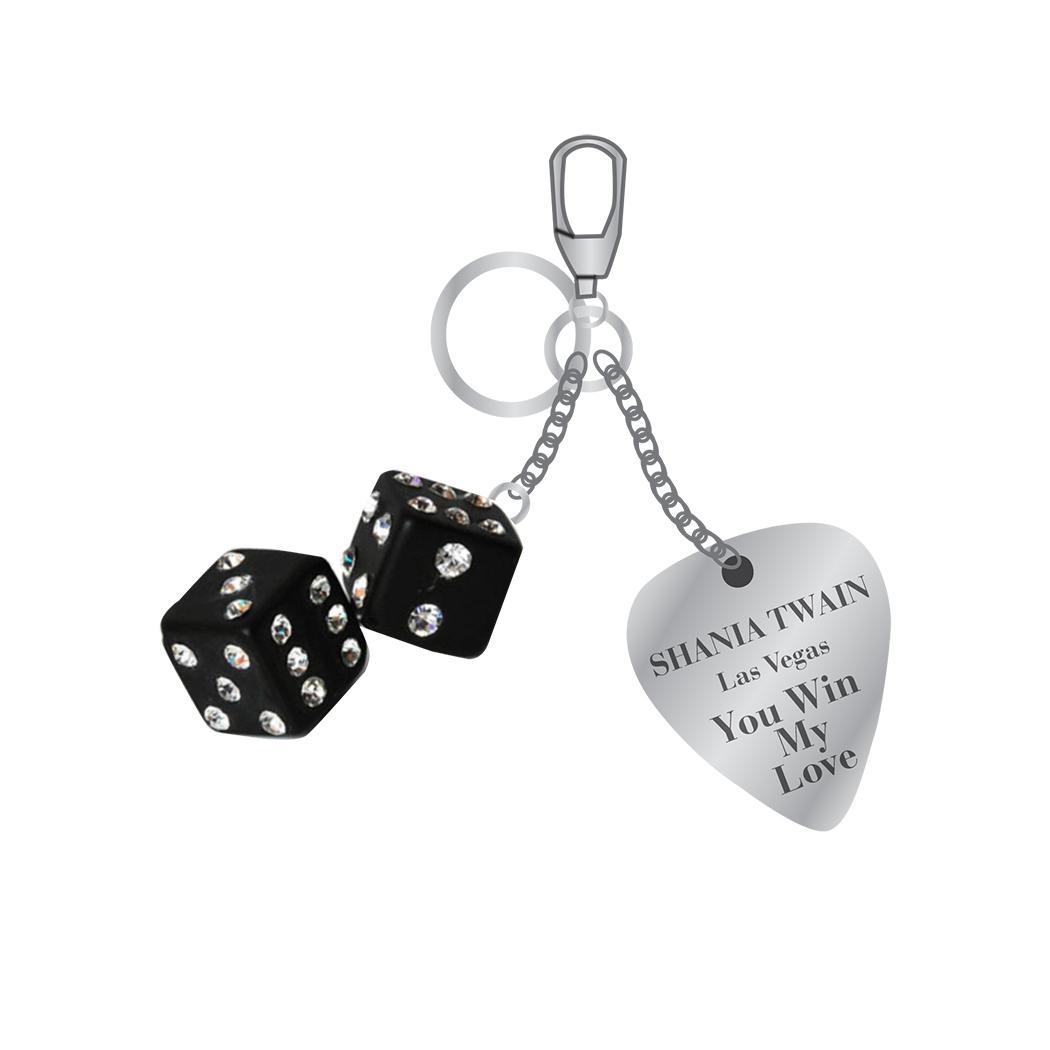 """You Win My Love"" Keychain"