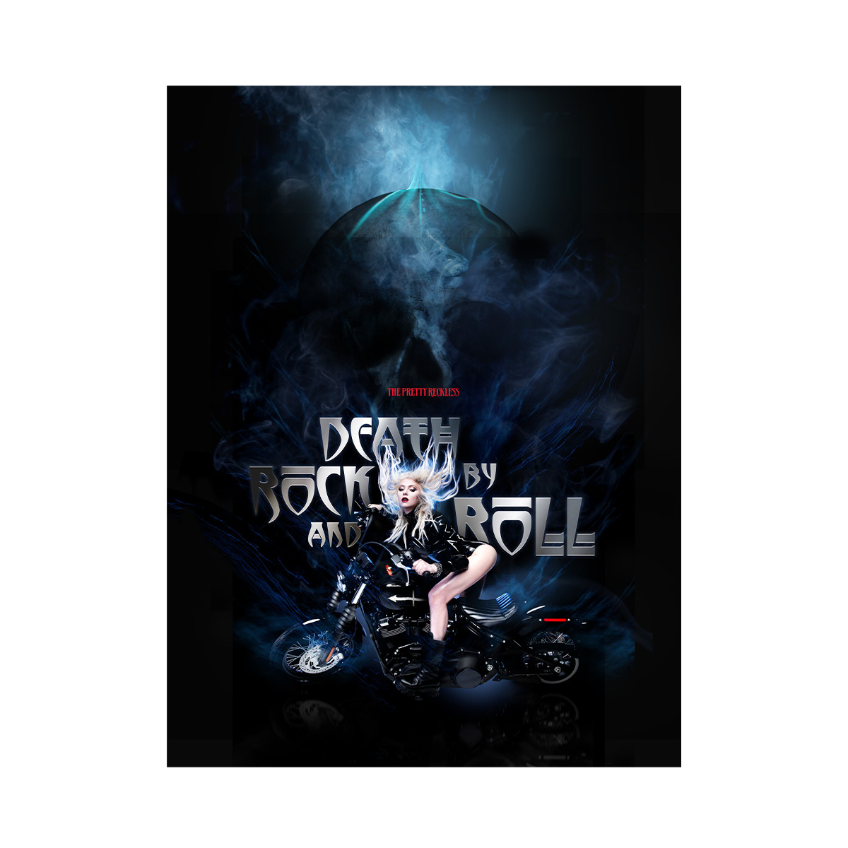 Death By Rock And Roll Poster