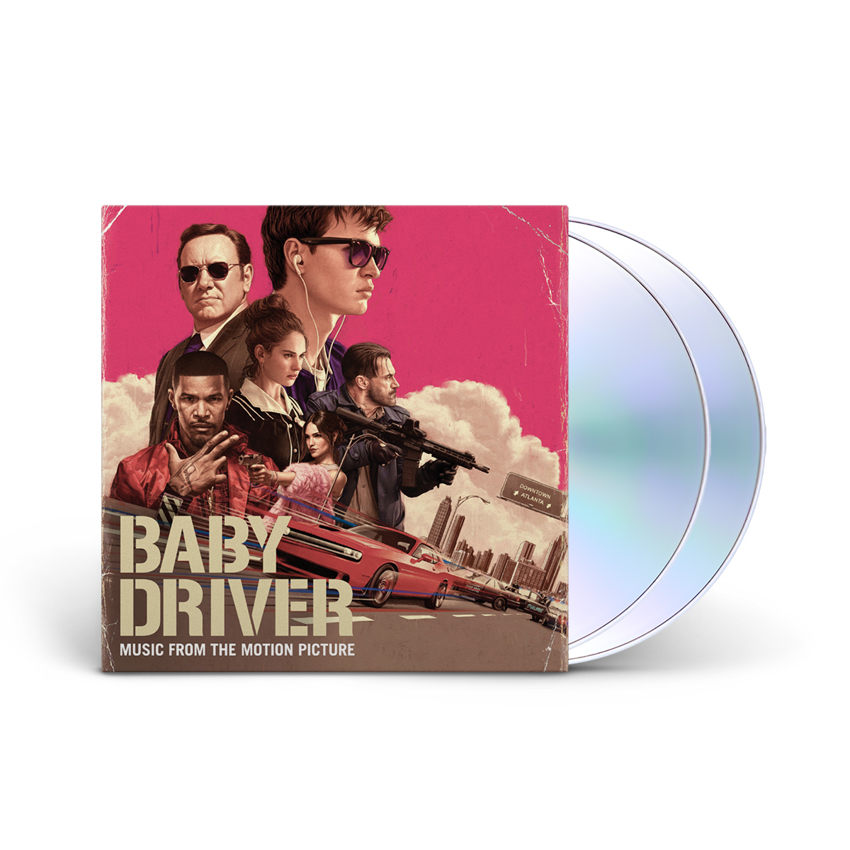 Music From The Motion Picture Baby Driver (2-disc) CD