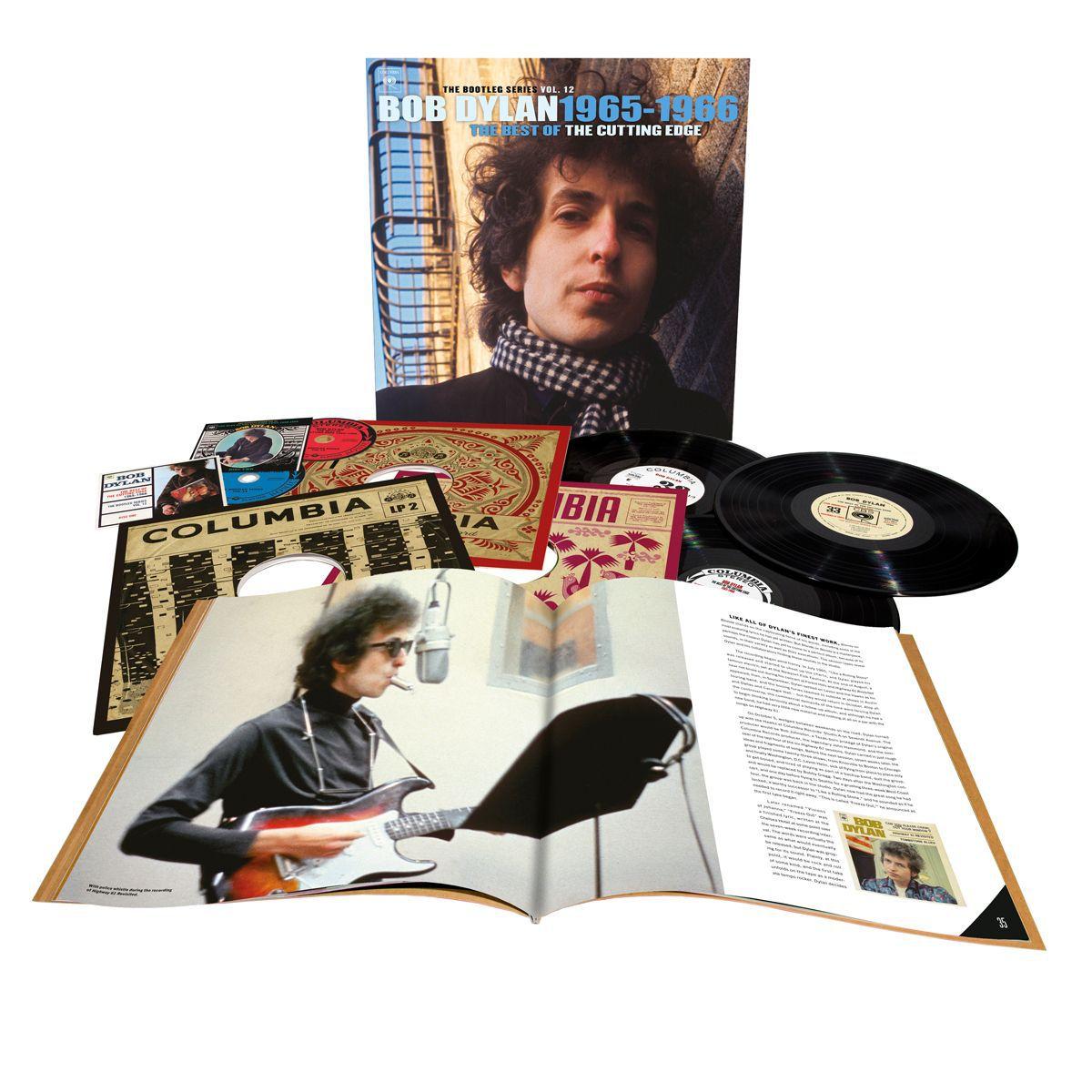The Bootleg Series, Vol. 12: The Cutting Edge 1965 – 1966 3-LP Vinyl