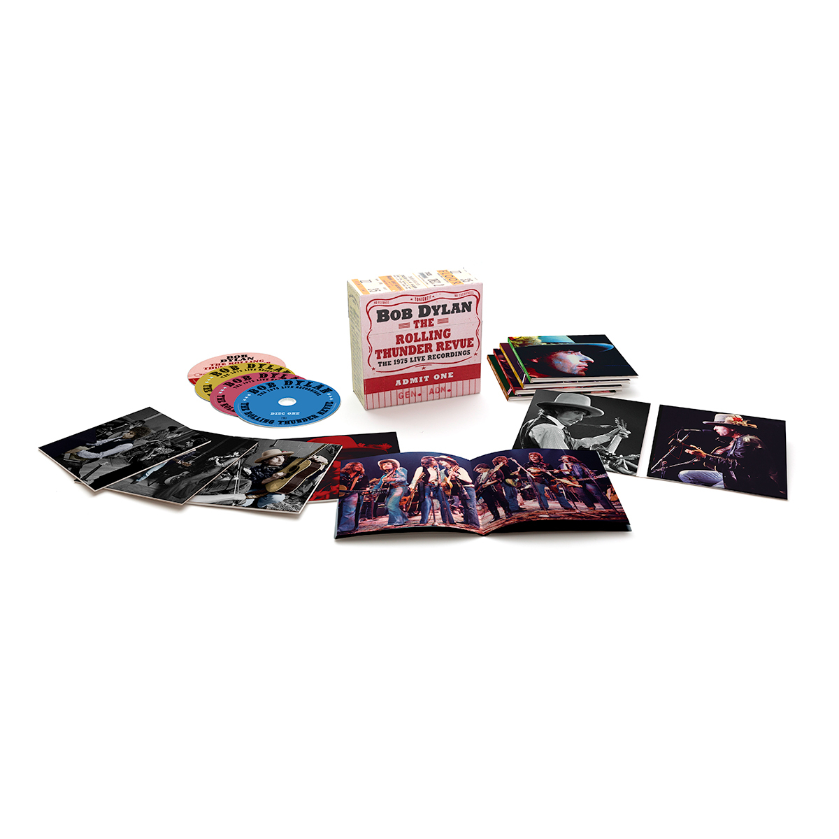 The Rolling Thunder Revue: The 1975 Live Recordings 14-CD Box Set