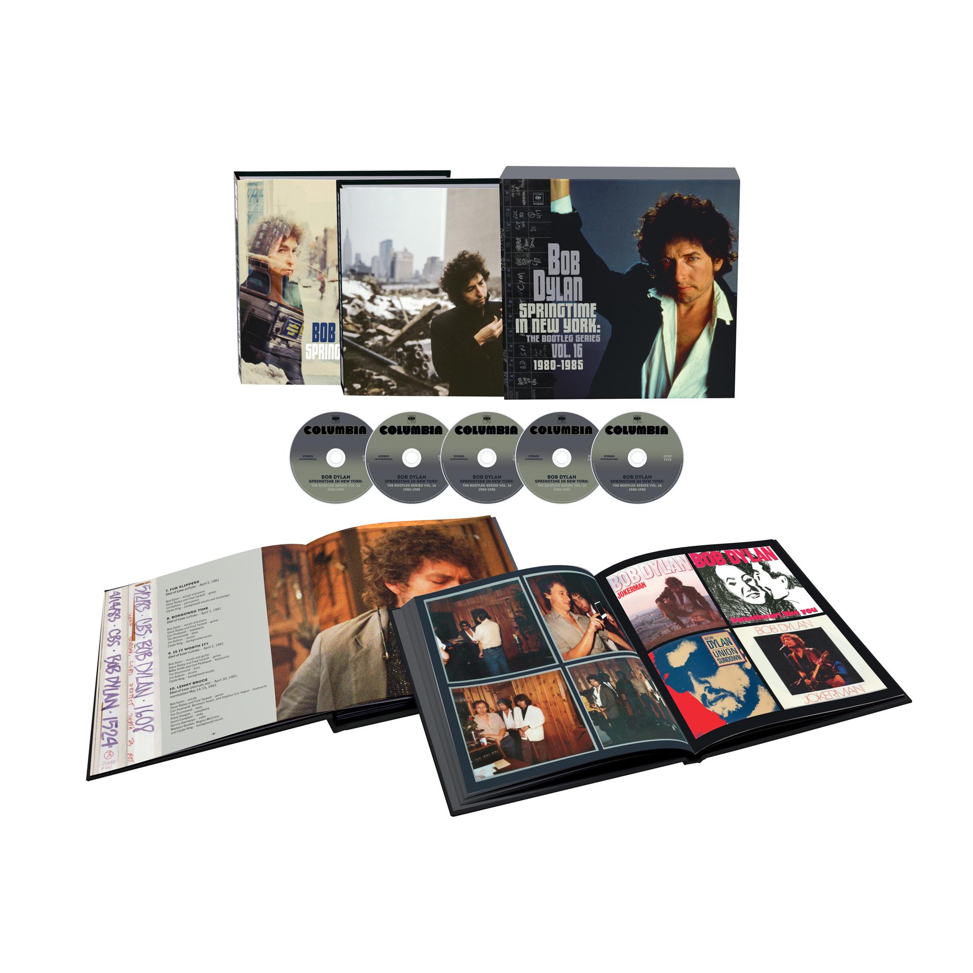 Bob Dylan - Springtime In New York: The Bootleg Series Vol. 16 (1980-1985) Deluxe CD