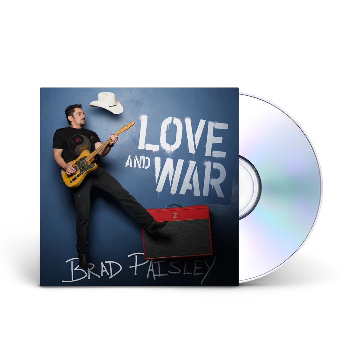 Brad Paisley - Love and War CD
