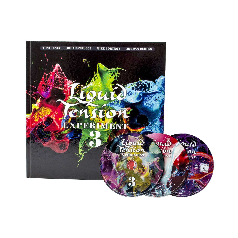 Liquid Tension Experiment - LTE3 2 CD + Blu-ray Artbook + Digital Download