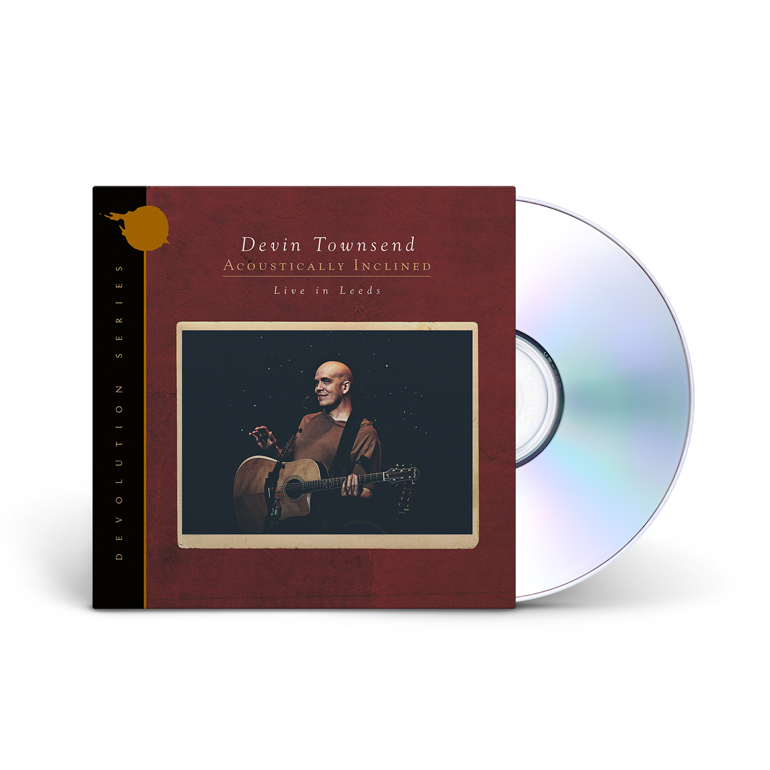 Devin Townsend - Devolution Series #1 - Acoustically Inclined, Live in Leeds CD Digipak + Digital Download
