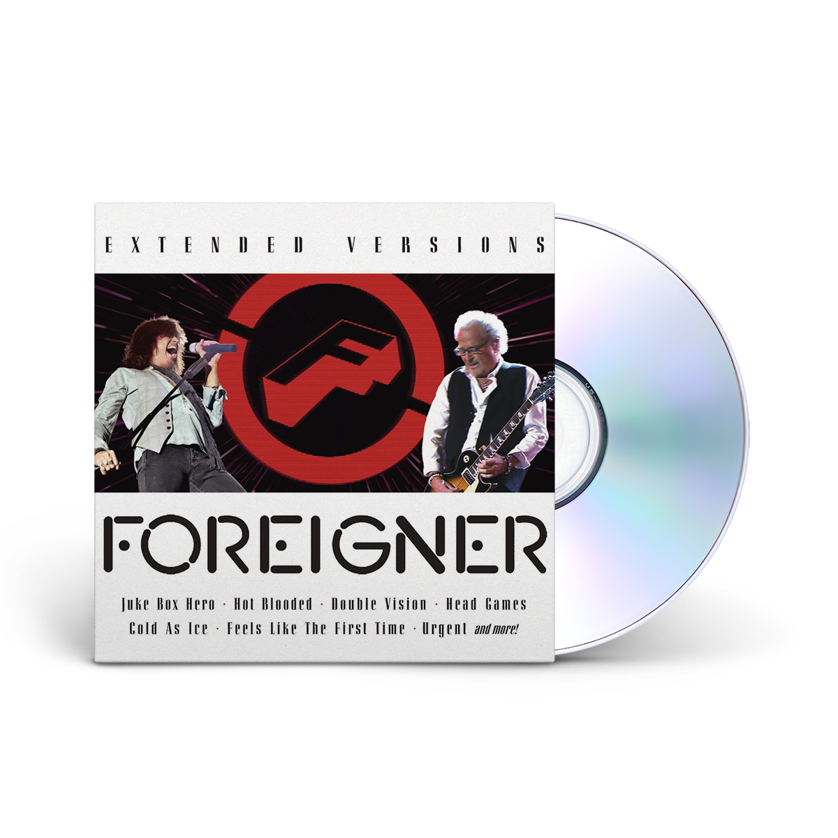 Foreigner Extended Versions II CD