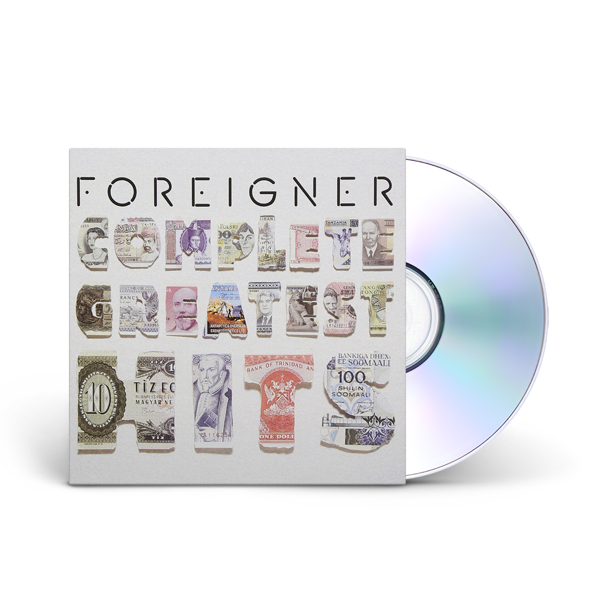 Foreigner Complete Greatest Hits CD