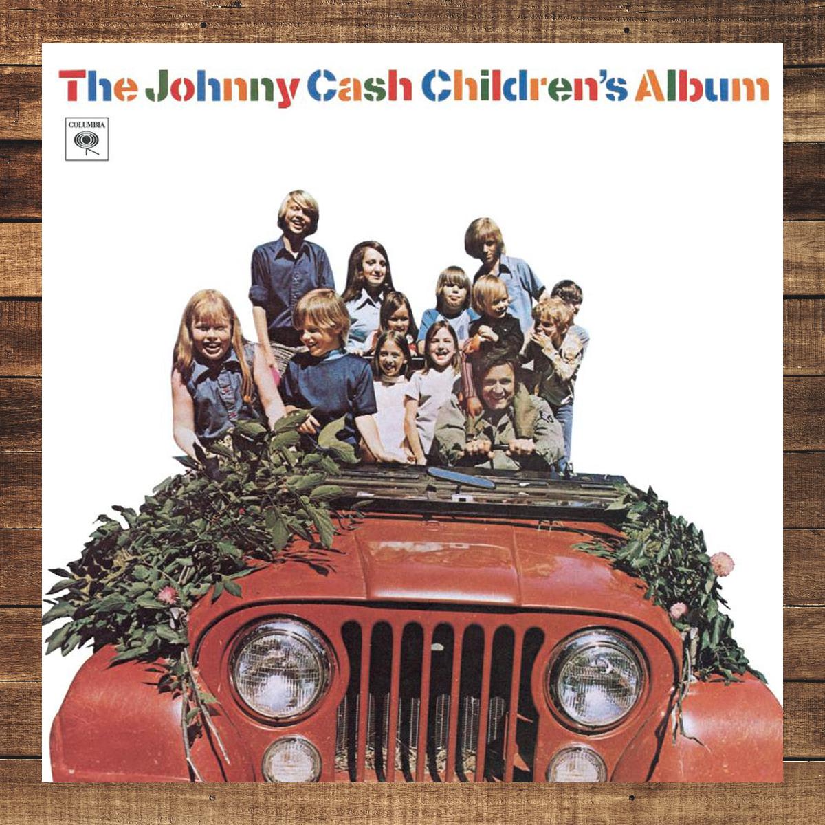 The Johnny Cash Children's Album CD