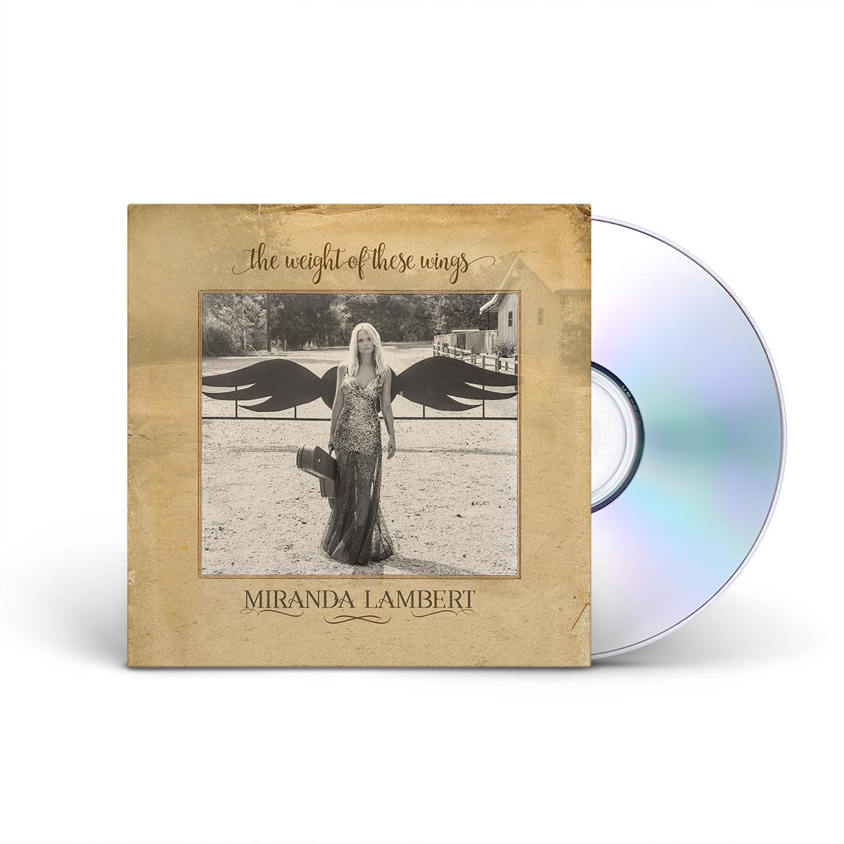 Miranda lambert the weight of these wings cd shop the for Miranda lambert the weight of these wings songs