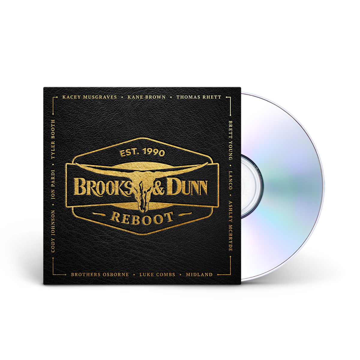 Brooks & Dunn - Reboot CD