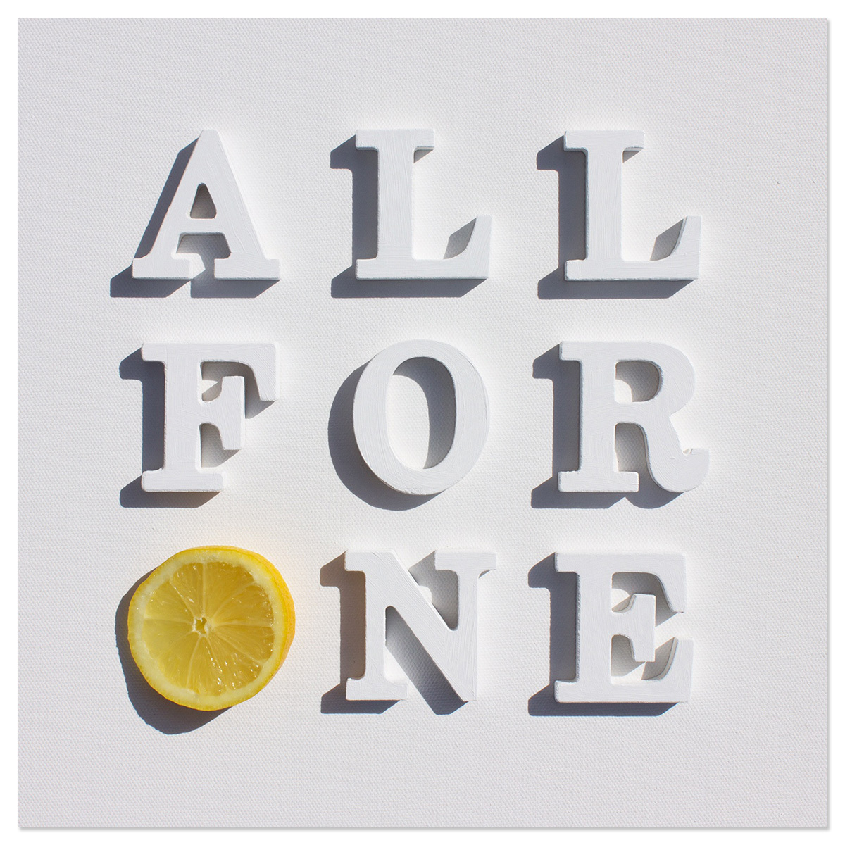 All For One Single CD