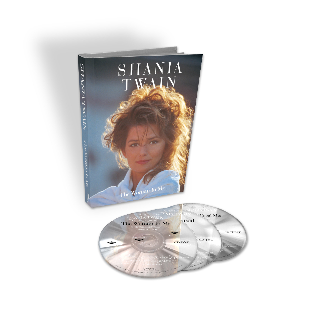 The Woman In Me: Diamond Edition 3 CD Box Set