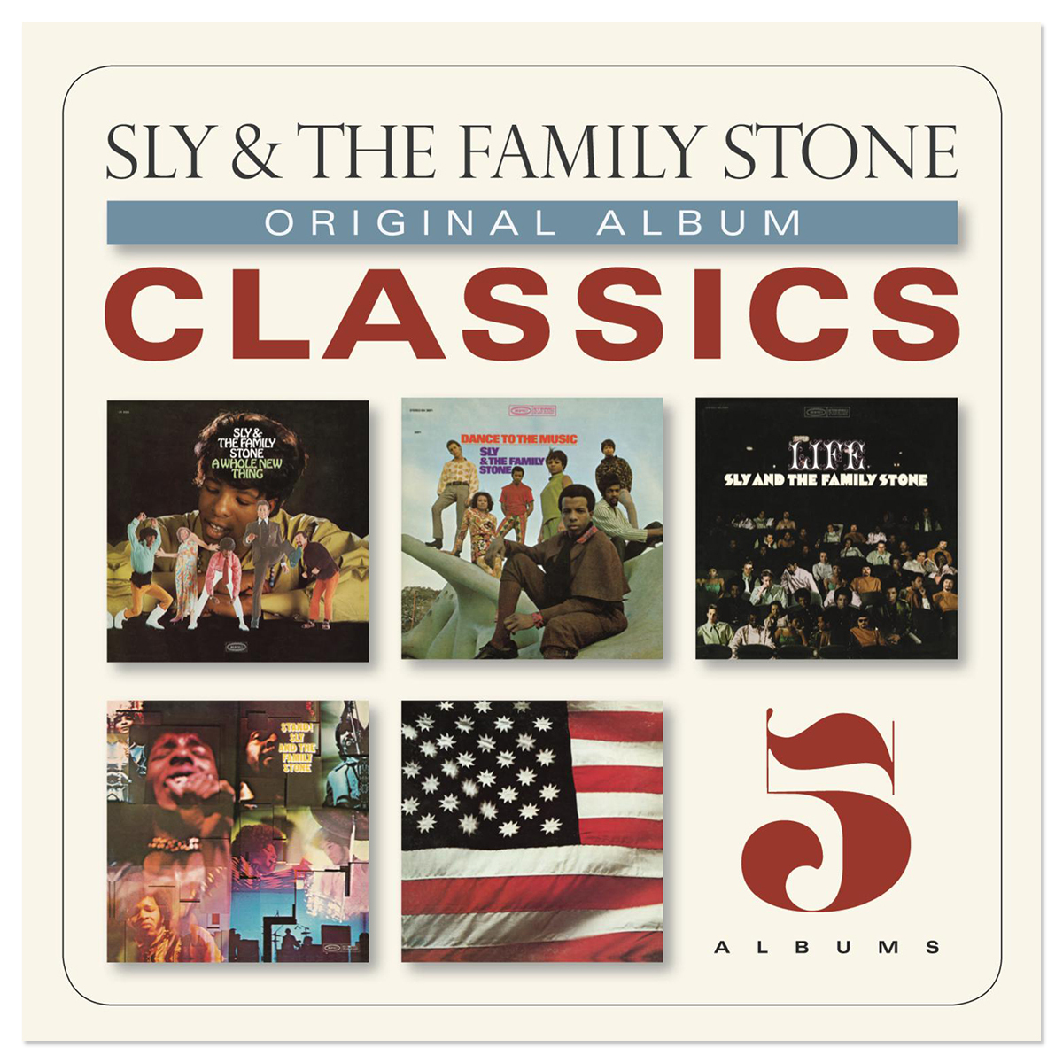 Sly & The Family Stone Original Album Classics [5 Cds] (US Artwork) CD