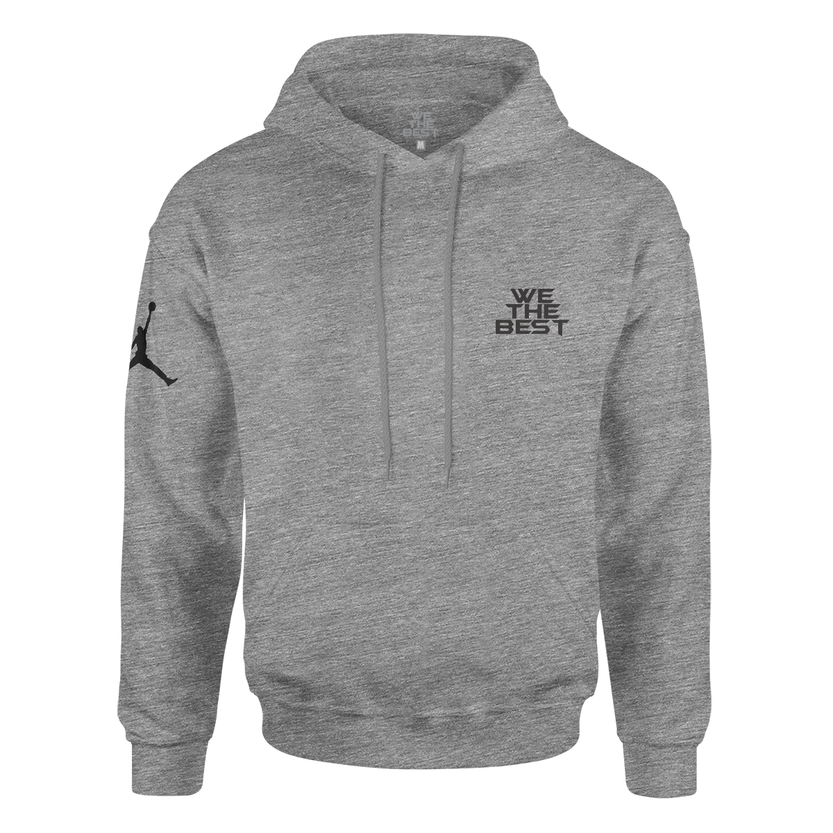 DJ Khaled x Jordan Leather Sneakers Hoodie - Grey + Father of Asahd Album Download